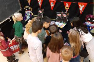 Met Sinterklaas een potje Bingo