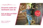 Vacature: leerkracht D.W. van Dam van Brakelschool